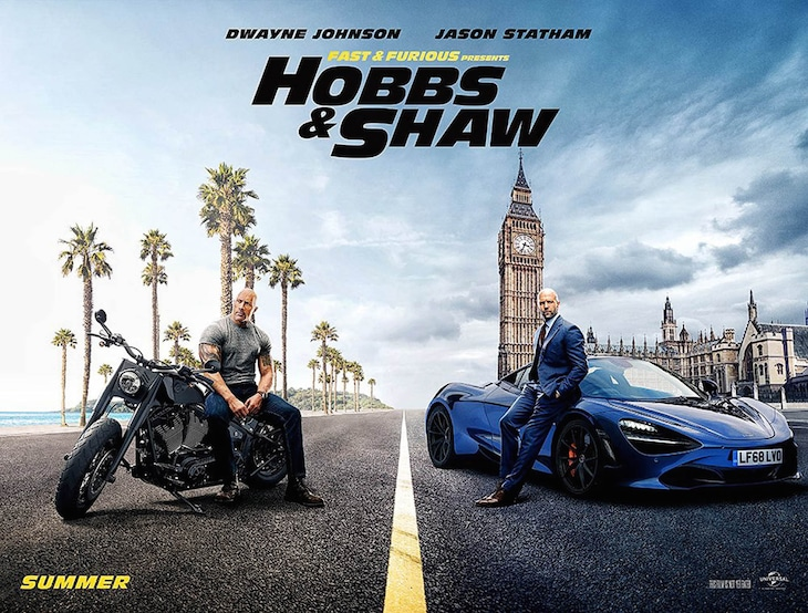 「Fast & Furious Presents: Hobbs & Shaw(原題)」ビジュアル (画像提供:Universal / PLANET PHOTOS / ゼータ イメージ)