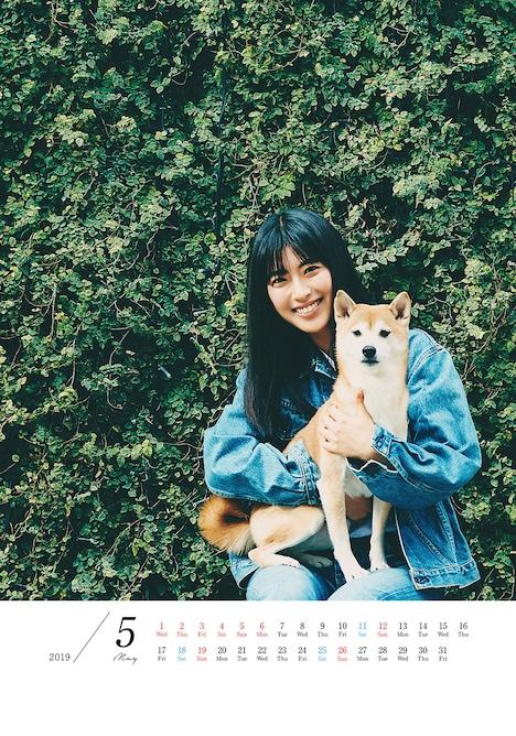 「瀧本美織カレンダー2019.4-2020.3」