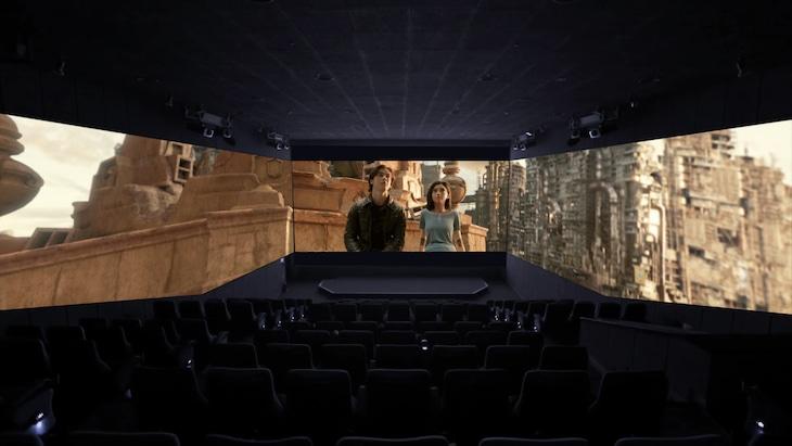 「アリータ:バトル・エンジェル」ScreenX上映イメージ