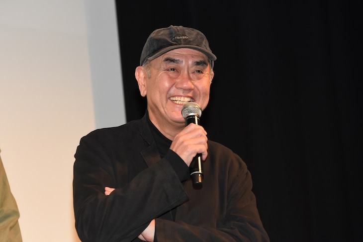 2019年2月19日に東京・スペースFS汐留で行われた「約束のステージ~時を駆けるふたりの歌~」完成披露試写会に出席した佐々部清。