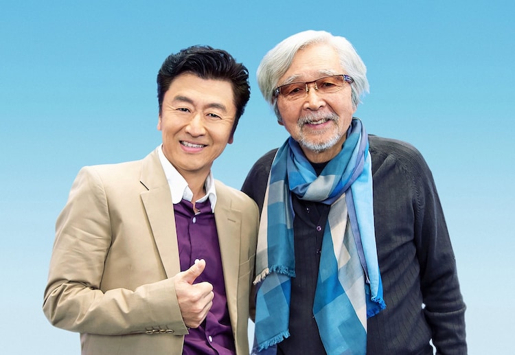 左から桑田佳祐、山田洋次。