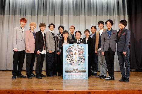旧奈良監獄で行われたトークイベントの様子。