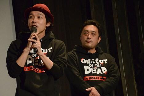 左から上田慎一郎、中泉裕矢。