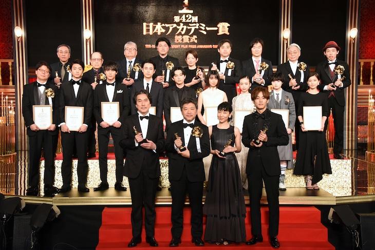 第42回アカデミー賞の受賞者たち。
