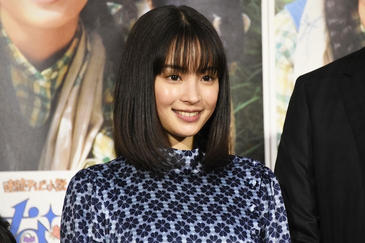 NHK連続テレビ小説「なつぞら」完成試写会に出席した広瀬すず。