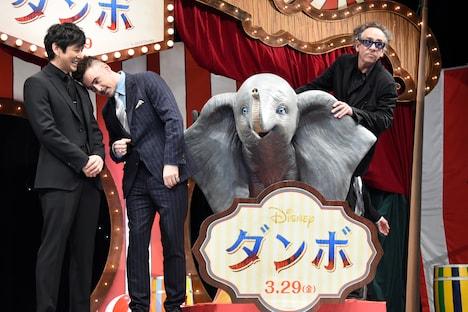 3月14日に行われた「ダンボ」ジャパンプレミアの様子。