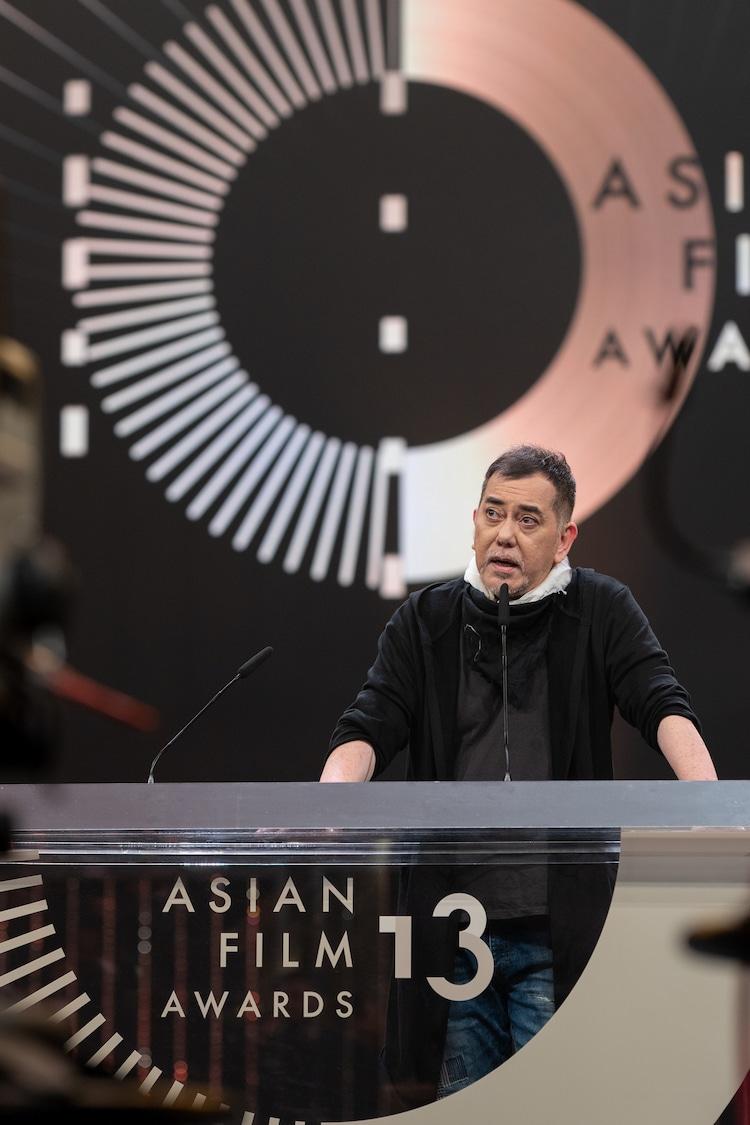 オープニングスピーチをしたアンソニー・ウォン。