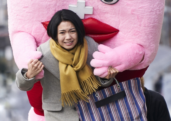 「生理ちゃん」より、二階堂ふみ演じる米田青子。