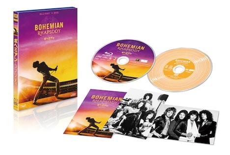 「ボヘミアン・ラプソディ」Blu-ray + DVDセットの展開図。
