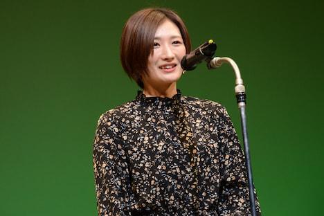 ベストアクション女優賞のプレゼンターを務めた武田梨奈。