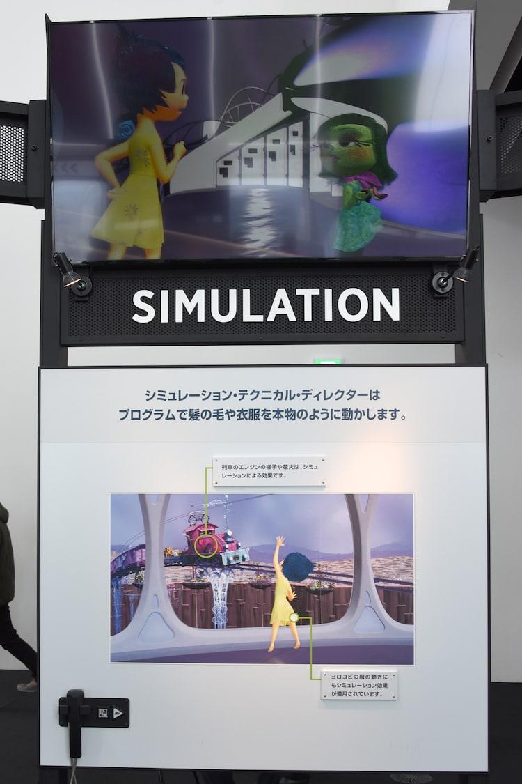 """""""シミュレーション""""の説明。"""