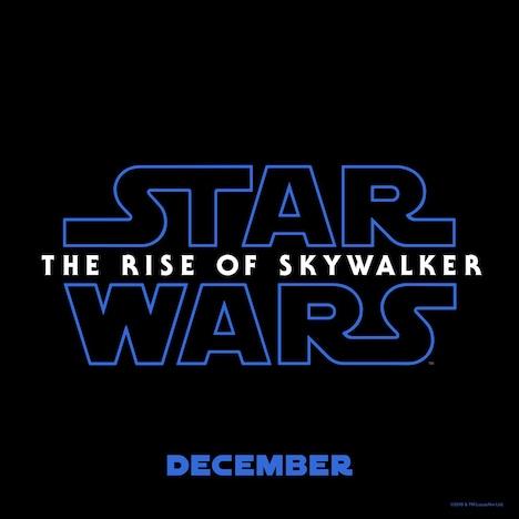 「スター・ウォーズ/ザ・ライズ・オブ・スカイウォーカー(原題)」ロゴ (c)2019 Lucasfilm Ltd. All Rights Reserved.