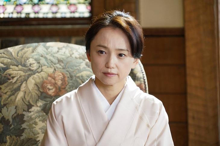 「プリンセス美智子さま物語 知られざる愛と苦悩の軌跡(仮題)」より、永作博美演じる浜村時子。