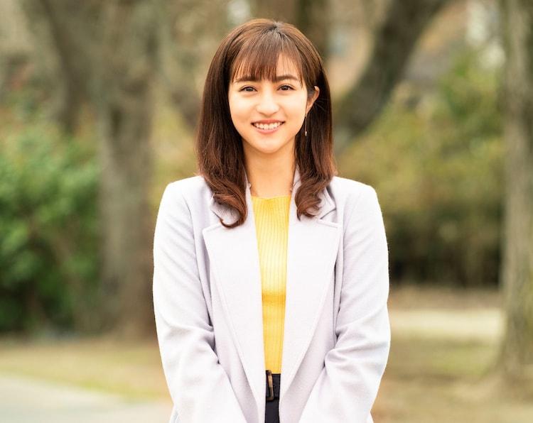 堀田茜演じる大海原春香。