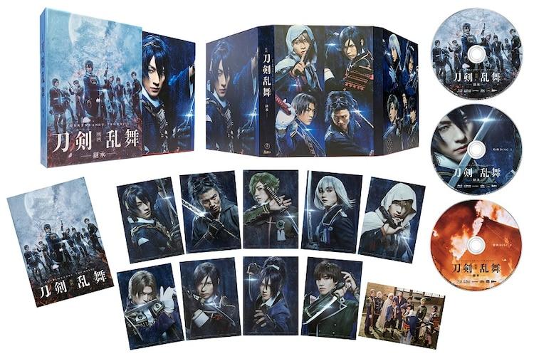 「映画刀剣乱舞」Blu-ray豪華版の展開図。
