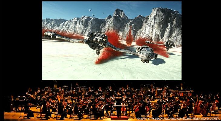 「スター・ウォーズ/最後のジェダイ」シネマコンサートイメージ画像