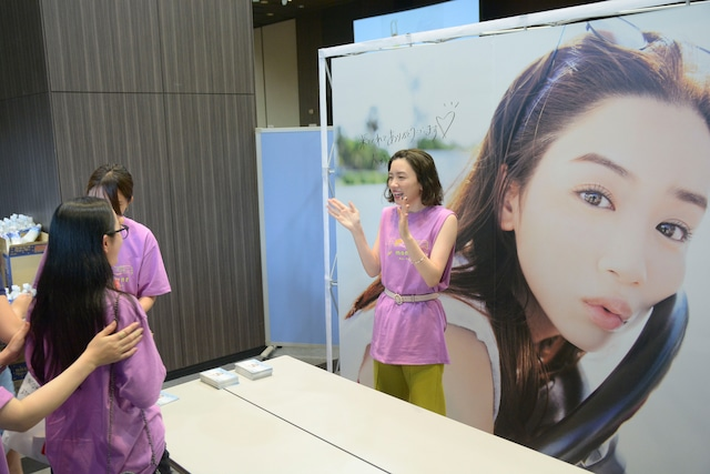 「mei nagano moment special event」の様子。
