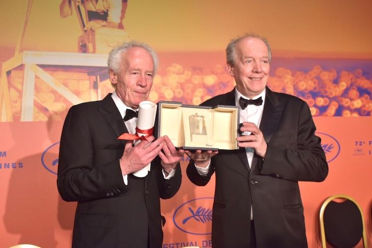 左からジャン=ピエール・ダルデンヌ、リュック・ダルデンヌ。