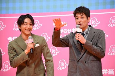 再共演を熱望する佐藤隆太(右)と佐藤寛太(左)。