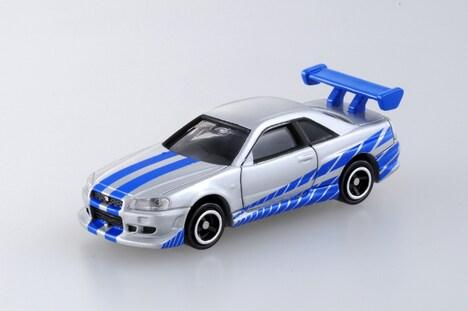 ドリームトミカ「ワイルド・スピード BNR34 / スカイライン GT-R」(756円) (c)TOMY