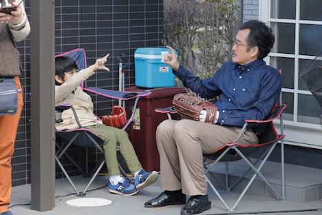 「劇場版 ファイナルファンタジーXIV 光のお父さん」メイキング写真