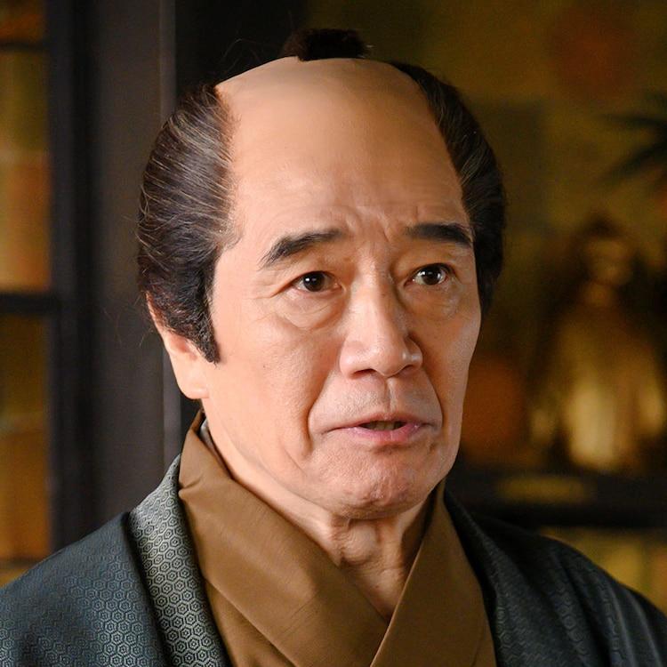 大谷亮介演じる大松屋惣右衛門。