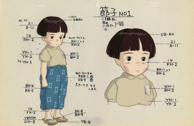「火垂るの墓」色指定 (c)野坂昭如/新潮社,1988