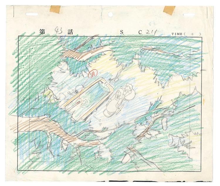「アルプスの少女ハイジ」レイアウト画 (c)ZUIYO 「アルプスの少女ハイジ」公式ホームページ http://www.heidi.ne.jp/