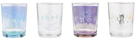 D賞のグラス(全4種)。