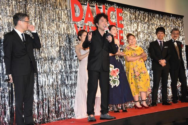 「ダンスウィズミー」ジャパンプレミア試写会の様子。