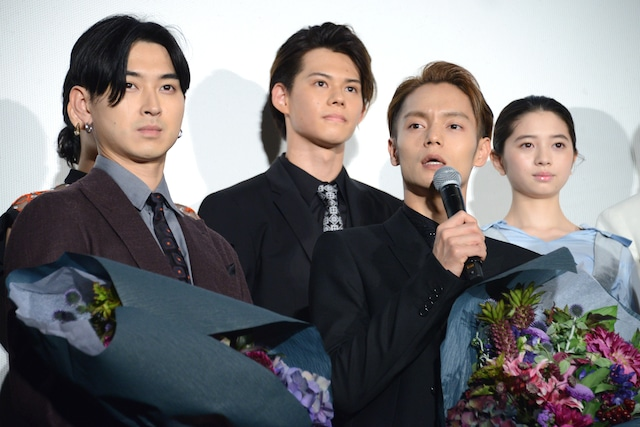 「東京喰種 トーキョーグール【S】」初日舞台挨拶の様子。