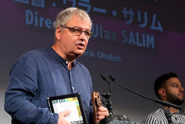 国際コンペティション部門監督賞受賞作「イリーナ」のプロデューサー、ステファン・キタノフ。