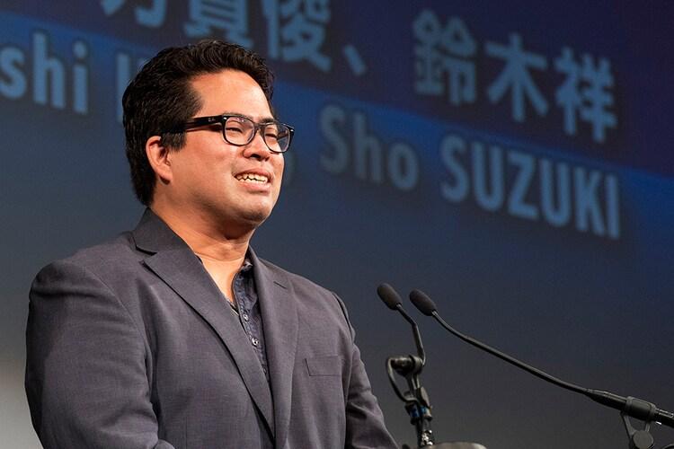 「おろかもの」で国内コンペティション長編部門観客賞を受賞した芳賀俊。