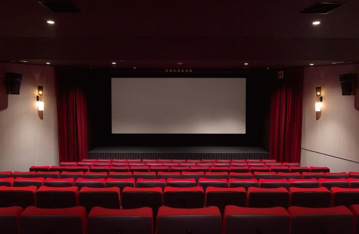 京都みなみ会館のスクリーン1。