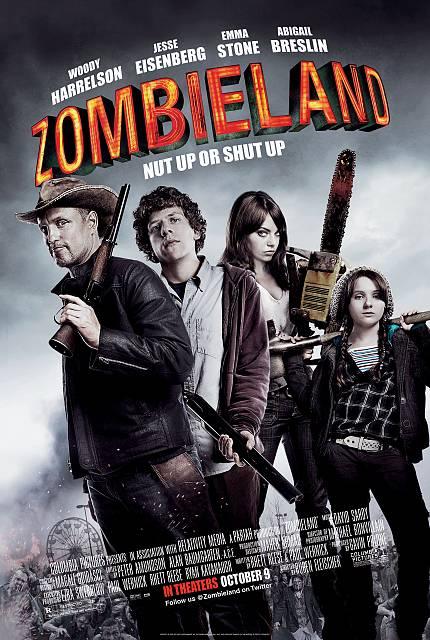 2010年日本公開「ゾンビランド」海外版ビジュアル (c)Photoshot
