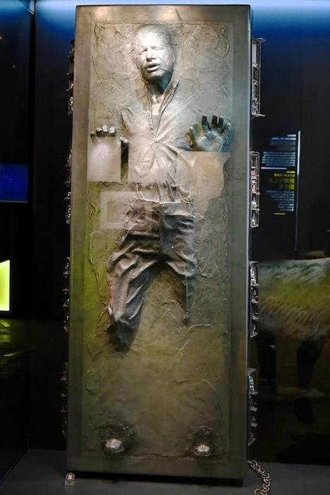 カーボン凍結されたハン・ソロ。