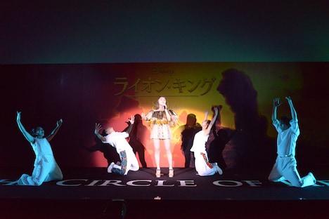 「ライオン・キング」プレミアム吹替版スペシャル上映会の様子。