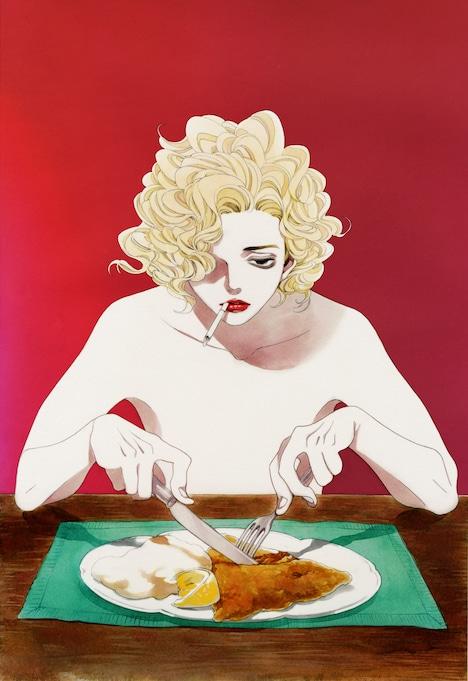 中村明日美子による「永遠に僕のもの」描き下ろしイラスト。
