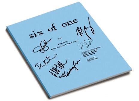 「six of one」のレプリカ台本。