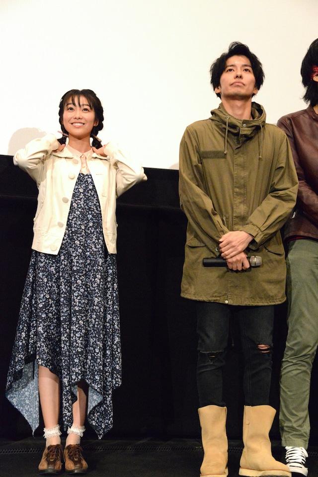 左から高田夏帆、武田航平。