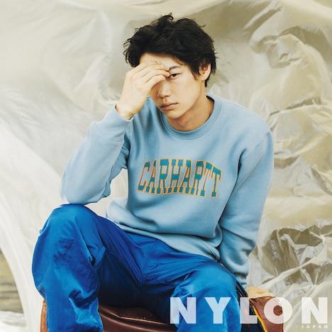 NYLON JAPAN10月号より、笠松将。