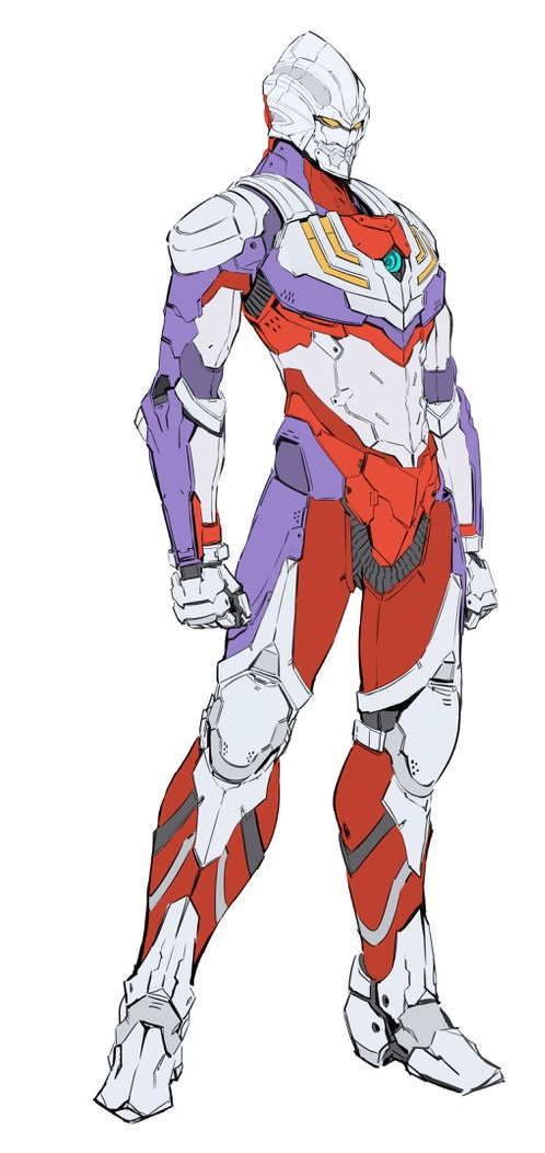 「ULTRAMAN SUIT『TIGA』」立ち絵