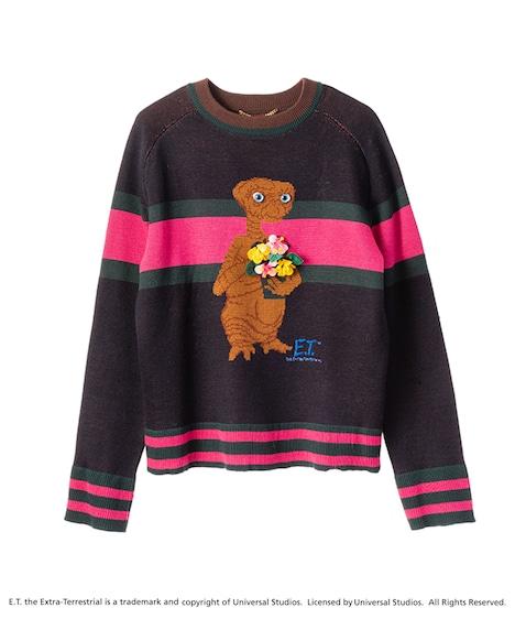 E.T.ニットプルオーバー花(税込4万6440円)
