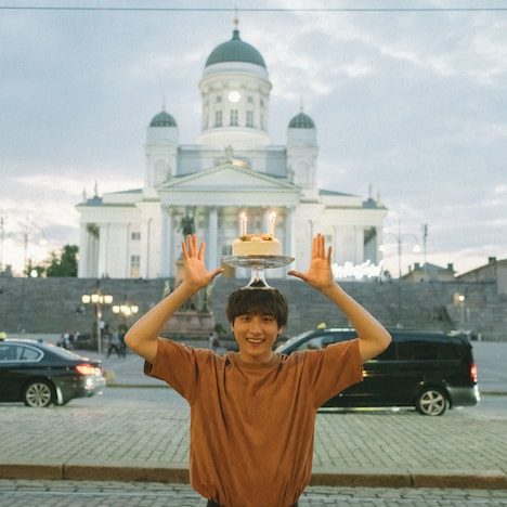 「Kiitos![キートス]~Yuta Koseki in Finland~ photo by Jun Imajo」より。