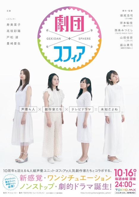 TOKYO MX「劇団スフィア」ビジュアル