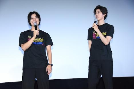 左から高崎翔太、高橋健介。