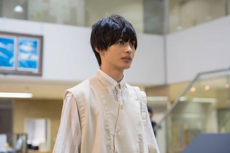 YouTubeドラマ「主人公」第1話より、神尾楓珠演じる純太。