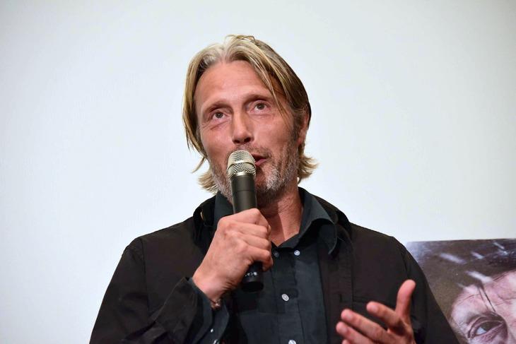 2019年に来日したマッツ・ミケルセン。