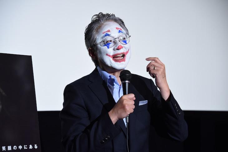 「ジョーカー」トークイベントに登壇した町山智浩。
