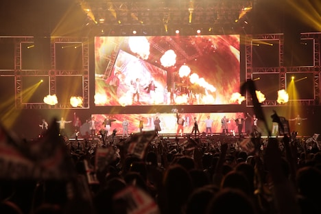 「『HiGH&LOW THE WORST』vs『THE RAMPAGE from EXILE TRIBE』完成披露試写会 & PREMIUM LIVE SHOW」9月17日公演より。